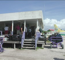 the airport on Ambergris