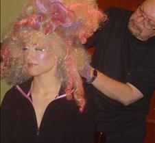 Ron Hawkins applies wig-JO