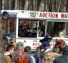 Auction truck close