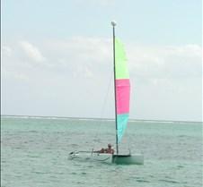 John on catamaran 2