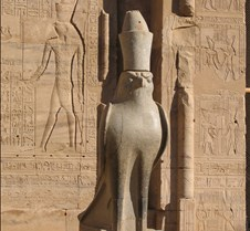 Edfu temple, Sam the Regal Eagle