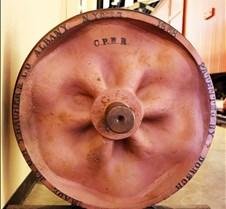1868 Railcar Wheel
