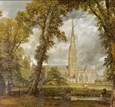 Salisbury Cathedral-1823-John Constable-