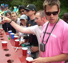 Portable Flip Cup Table