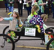 St. Paddy's parade-Irish princesses
