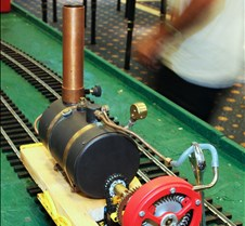 David Wegmuller's Steam Turbine Loco