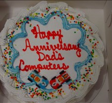 Anniversary Ice Cream Cake