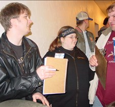 Aaron, Patty, Mark trivia movie (Friday)