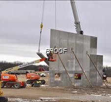 Walls go up at Zavadil building
