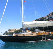 Our sailboat - The Morningstar