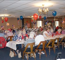 Crowd at party