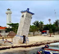 Leaning Tower of Puerto Morelos
