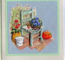 Decoupaged_garden_chair