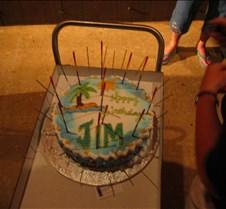 We got a Jim a birthday cake