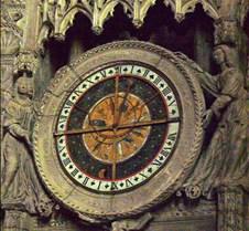 Chartres - Clock