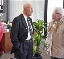 Richard Gandrud-visiting at 90th