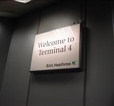 LHR - Terminal 4 Sign
