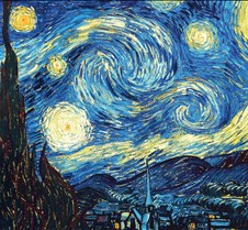 The Starry Night - Vincent Van Gogh -188
