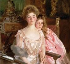 Mrs Fiske Warren & Daughter Rachel-JS Sa