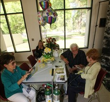 Jane Love Meck's 100th's Birthday July 31, 2015 This Album contains photographs of the Luncheon at the Olive Garden on Friday and the AARP Dance on Saturday.