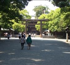 Mejii shrine entrance