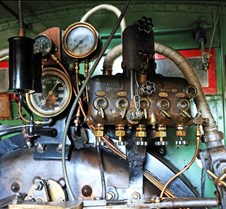 Sierra #3 Railway Steam Controls