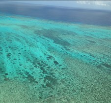 Pics from above Barrier Reef