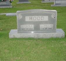 Thomas J Hood Head Stone