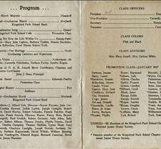 kingsford park graduation 1957 inside