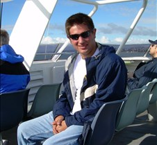Bryan on the Boat