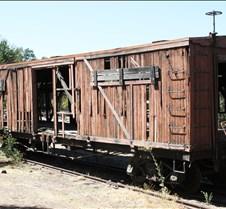 Sierra Railway Really Aging Box Car