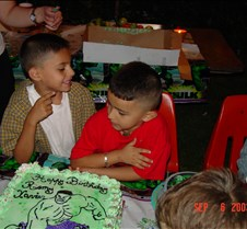 Remy's Birthday Party 2003