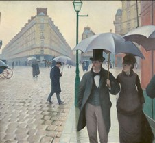 027Paris Street Rainy Day-Gustave Caille