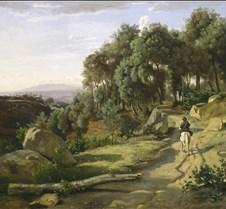 A View near Volterra - Jean-Baptiste-Cam