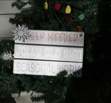 Card - Winter Help Needed seasonal for J
