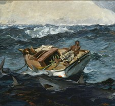 The Gulf Stream-Winslow Homer-1899-Metro