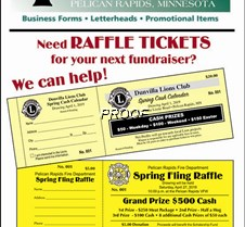 Raffle ticket ad - WEB