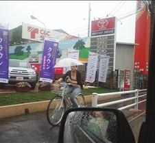 Machida bike rider