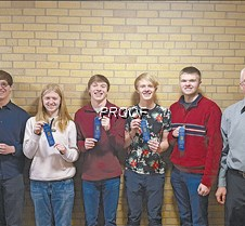 Knowledge Bowl, first place CMYK