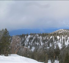 Clouds Looming over Lake Tahoe