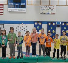 Speed skating medals