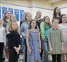 Fifth grade choir girls
