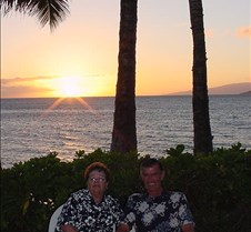 Mom and Dad at Sunset - 3