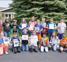 GHES fifth grade awards