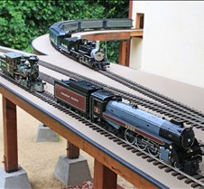 Canadian Royal Hudson 4-6-4, Live Steam