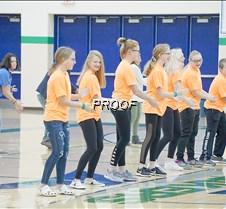 Flash mob students