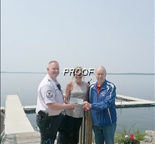 Hospice ride donation from Lakeside
