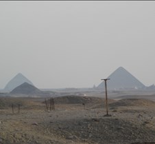 Dahshur, Bent Pyramid in background