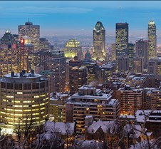 Montreal Twilight Panorama