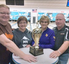 Bowling team winners